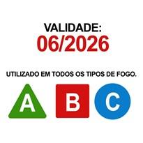 EXTINTOR ABC AUTOMOTIVO 1KG GORDINHO/BUJÃO
