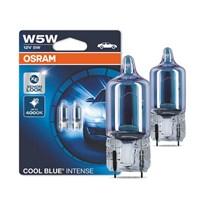 LÂMPADA OSRAM COOL BLUE W5W T10 PINGO SUPER BRANCA 4000K 5W